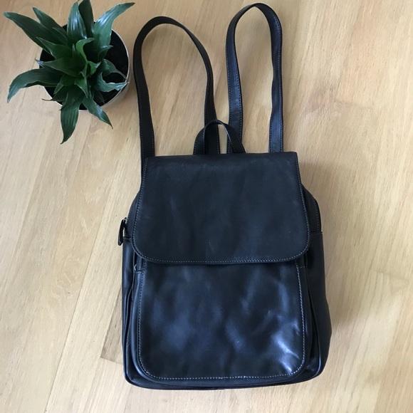 Tignanello Genuine Leather Black Backpack. M 5b7e085c283095c345cbde88.  Other Bags ... e578c00c4199e